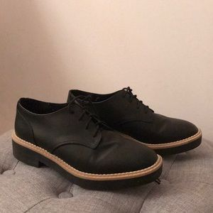 H&M Black Oxfords